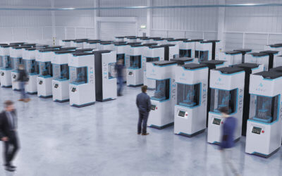 Mehrere 3D-Drucker LAKE von Azul 3D