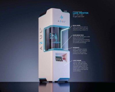 3D-Drucker LAKE von Azul 3D (einzeln mit Informationen)
