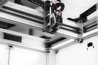 Direct-Drive-Extruder des 3D-Druckers MBL 136 von Meltingplot