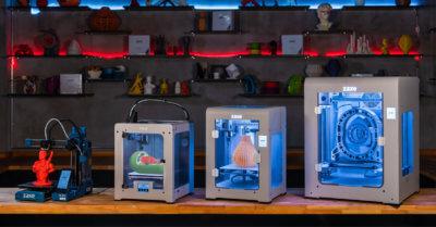 3D-Drucker-Modelle von Zaxe