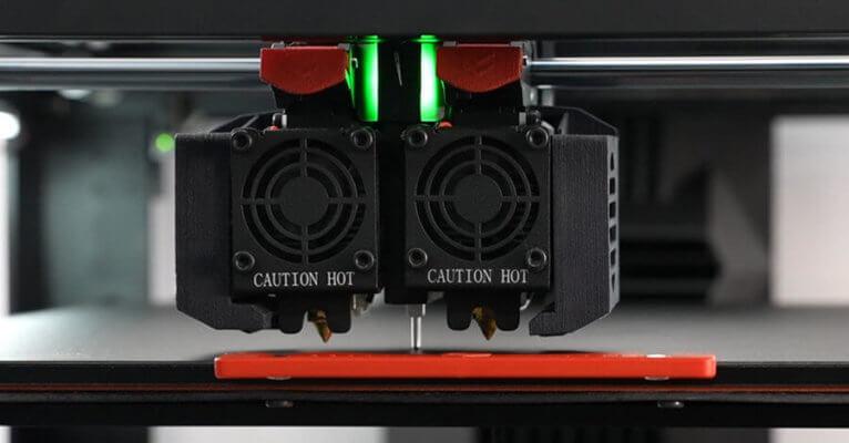 3D-Drucker Raise3D Pro3-Serie mit austauschbaren Hotends