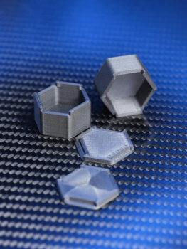 3D-gedruckte Moonboxes
