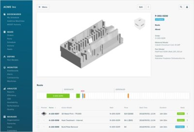 Screenshot Software Oqton