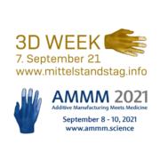3D WEEK 2021 und AMMM 2021 Logos