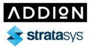 Addion und Stratasys Logos