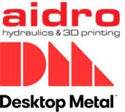 Aidro und Desktop Metal Logos