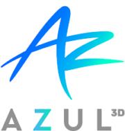 Logo Azul 3D