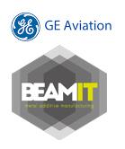 GE Aviation und BEAMIT Logos