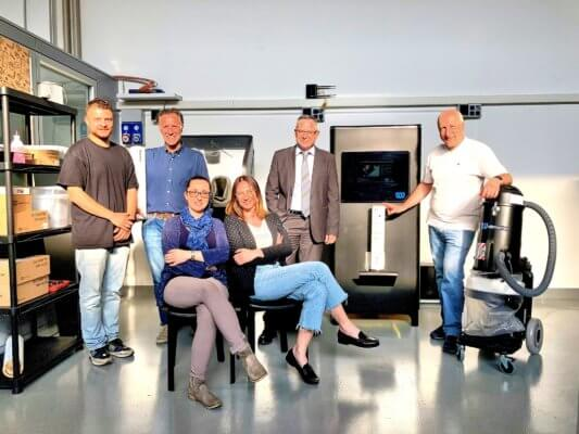 Foto Bologna 3D und Gravity 3D-Drucker