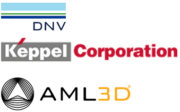 DNV, AML3D, KTI Logos