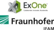 Logo ExOne und Fraunhofer IFAM