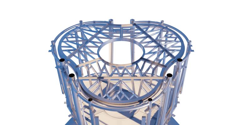 3D-gedruckte Struktur für ESA-Lebensraum
