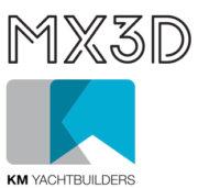 MX3D und KMY Logos