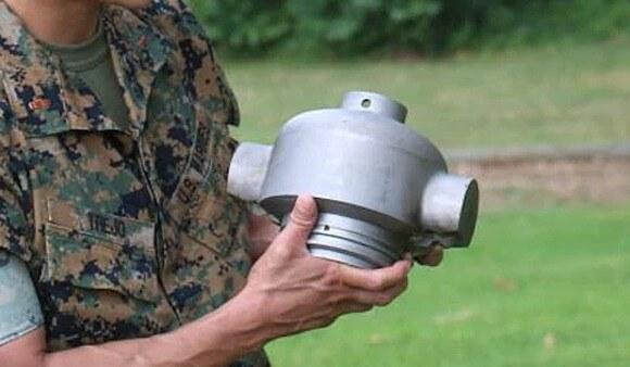 Raketenmotorteil aus dem 3D-Drucker