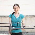 Anna-Lena Rotter mit 3D-Druck-Posaune