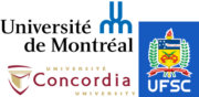 Universite Montreal, Universite Concordia und Federal University of Santa Catarina