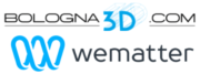 Logo Wematter und Bologna 3D