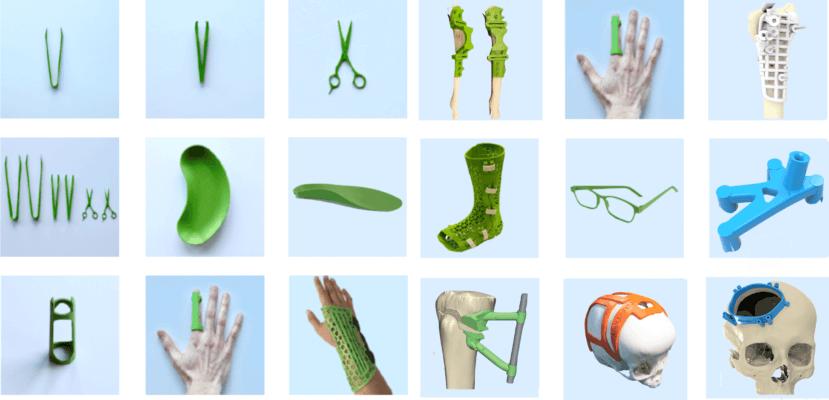 Verschiedene mögliche antimikrobielle Hilfsmittel für den medizinischen Bedarf