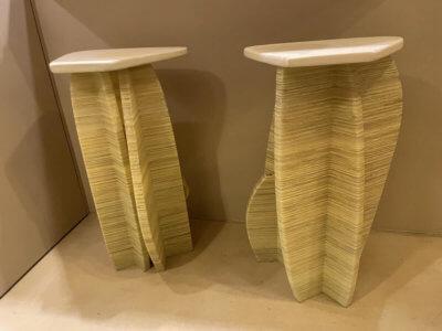 3D-gedruckte Stehplätze