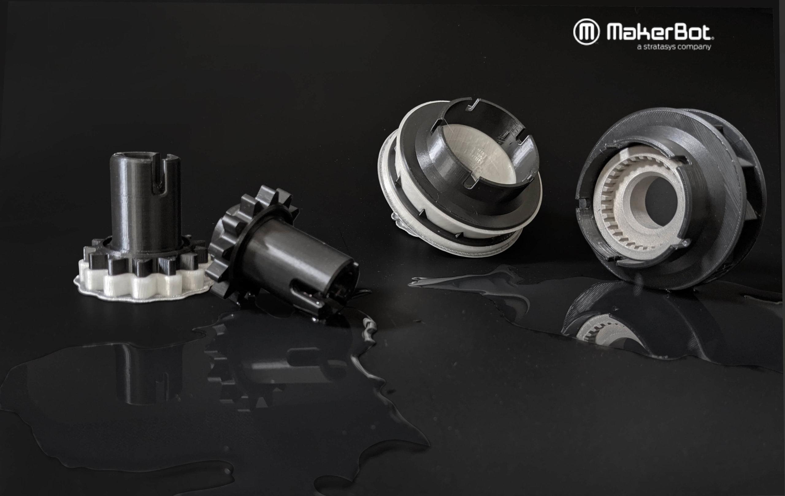 3D-Druck-Objekte aus MakerBot ABS-R