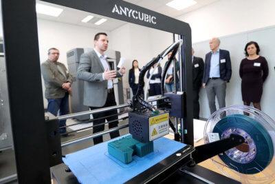 3D-Drucker von ANYCUBIC an der Veranstaltung RUDOLSTÄDTER KUNSTSTOFFTAGE 2020