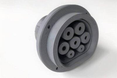 3D-gedruckter Stecker