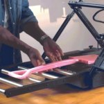 3D-Drucker Infinity3D mit langem 3D-Druck-Objekt