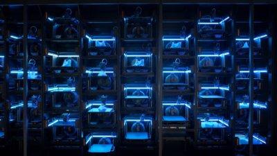 3D-Druckfarm Prusa