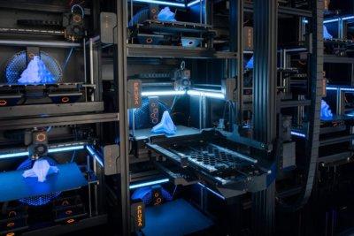 3D-Drucker Nahansicht