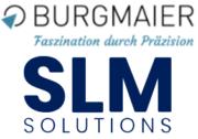 Logo Burgmaier und SLM Solutions