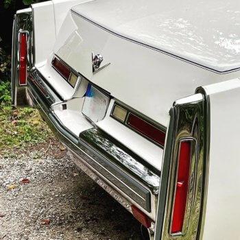 Cadillac Deville Rückansicht