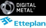 Logos Digital Metal und Etteplan