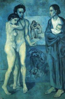 La Vie aus der blauen Periode von Picasso