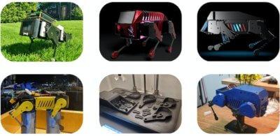Beispiele Roboterhunde von Fans erstellt