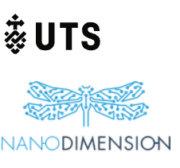 Nano Dimension und UTS Logos