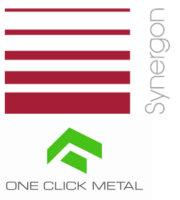 Synergon und One Click Metal Logo