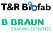 T&R Biofab und B Braun Logo