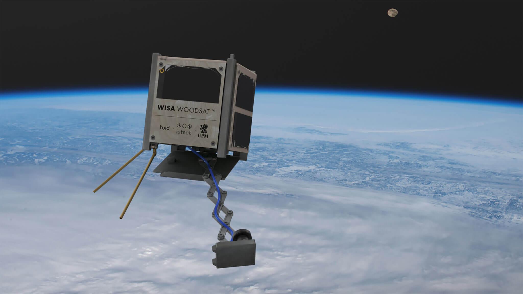 WISA Woodsat Nanosatellit